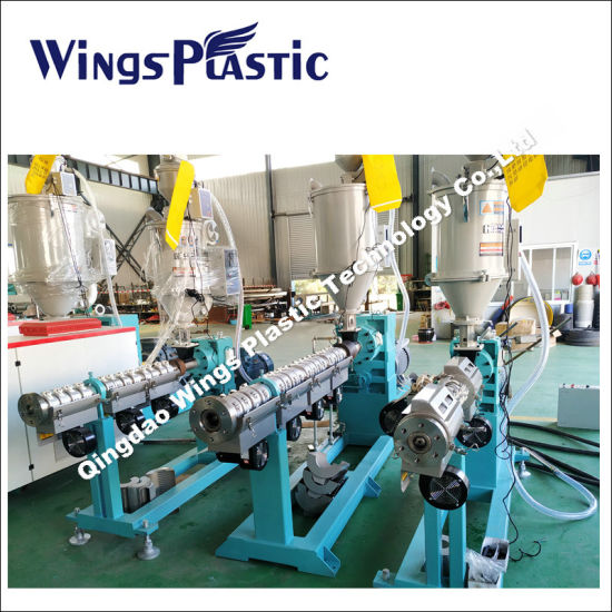Plastic Nylon PVC/UPVC/HDPE/PP/PPR Pipe Extrusion Line/Production Line/Price/PE Gas Pipe Line/Garden Pipe Making Machine/Extruder Factory Price