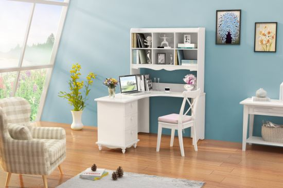 china computer desk with bookcase modern design student study table