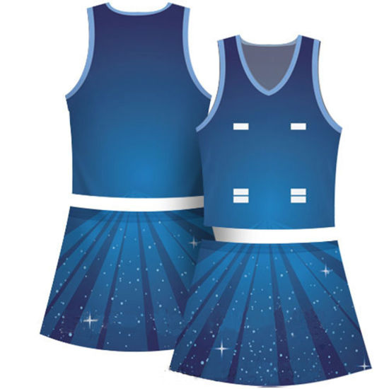 Top Sale Custom Sublimation Netball Dress for Women pictures & photos