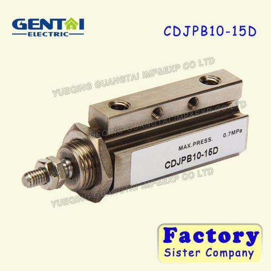 Good Quanlity SMC Type Double Acting Mini Cdjpb10-5D Air Pin Cylinder