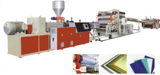 PVC Door and Window Frame Profile Machine pictures & photos