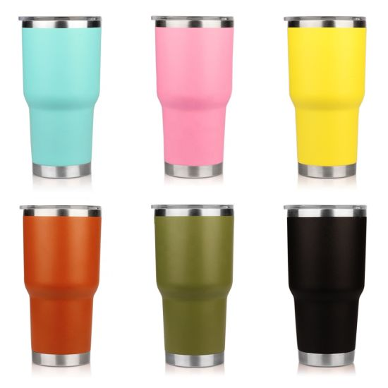 Wholesale 20oz 30oz Double Wall Vacuum Insulated Stainless Steel Tumbler Car Travel Coffee Beer Mug