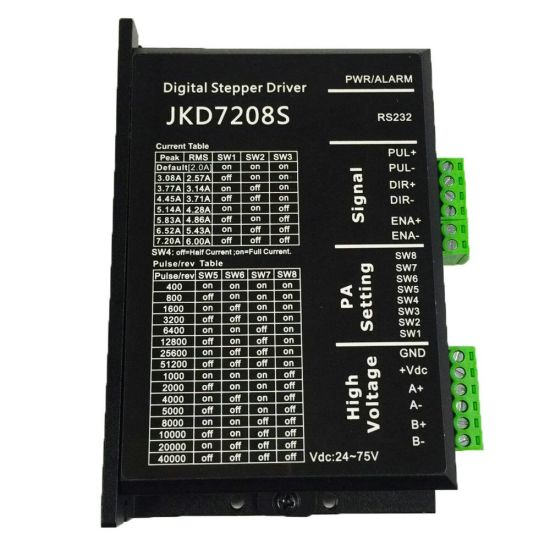 Cheap Price 0.1-7.2A 2 Phase Stepper Motor Driver pictures & photos