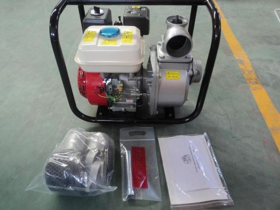 Agricultural High Pressure Gasoline Engine Water Pump (WP-20) pictures & photos