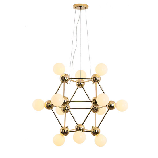 Modern Gold Hanging Pendant Lamp Light Lighting for Hotel or Residential or Bedroom in 4 Lights pictures & photos