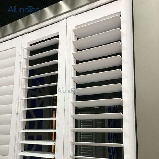 China Exterior Plantation Shutter with Adjustable Louvre - China ...