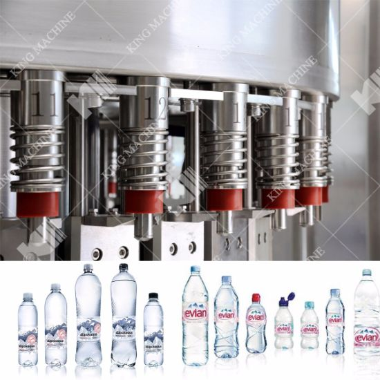 2000bph Drinking Water Filling Machine / Automatic Water Bottling Machine pictures & photos