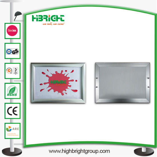Shopping Cart Plastic Handle Advertising Board Display pictures & photos