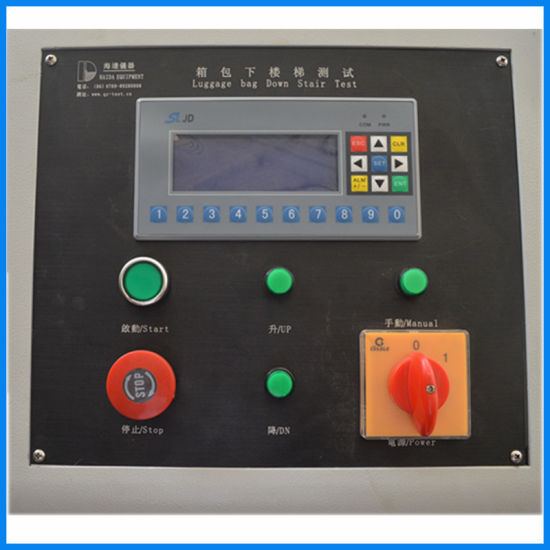 Electronic Touch Screen Leather Case Walking Abrasion Testing Machine pictures & photos