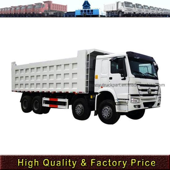 Lower Price China Sinotruk HOWO 8X4 12wheel Heavy Duty Dump Truck/Heavy Truck