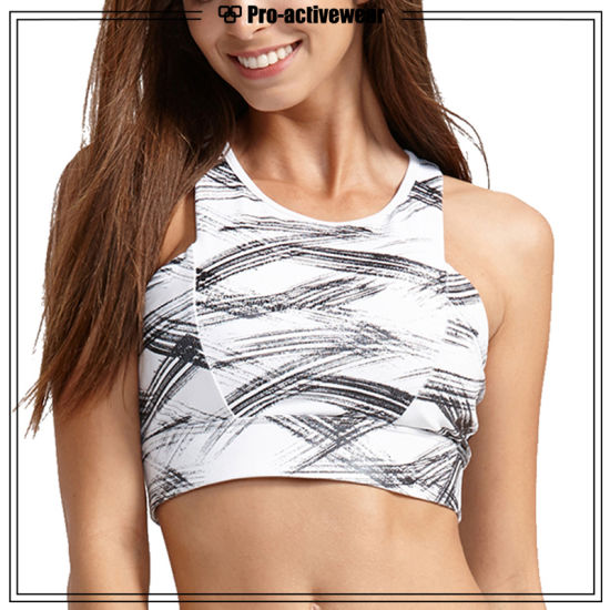 3ad72caab4eb5 China Women Running Bra Fitness Crop Top Lingerie Activewear - China ...