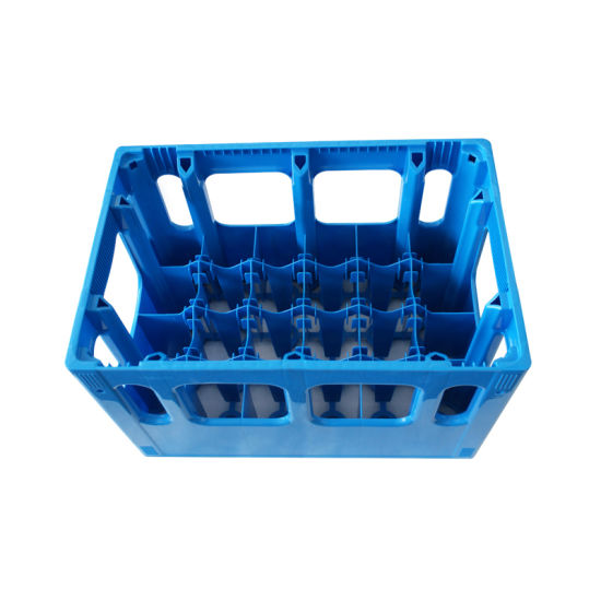 Plastic Stackable Milk Crate Injection Mould