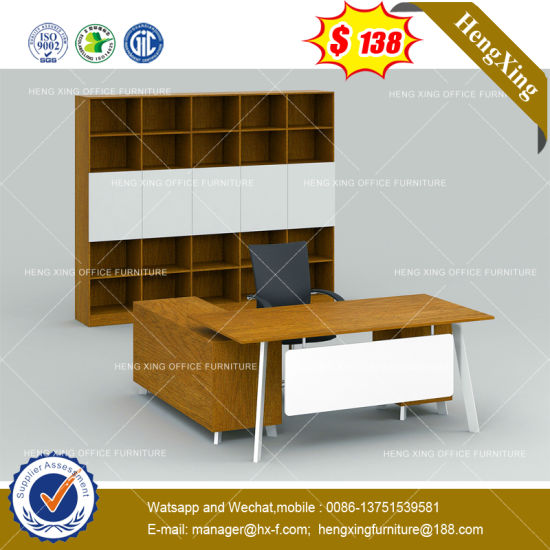 Metal Frame Government Project Office Desk (HX-8NE060) pictures & photos