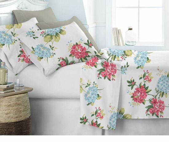Alice Customize 100% Cotton Printing Bedding Set Duvet Cover / Bed Sheet / Hotel Bed Linen 180tc -300tc Cotton Bedding Set