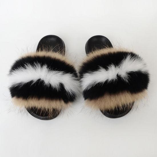 China Fashion Party Daily Fur Flat