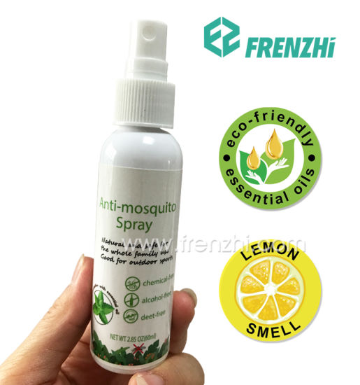 Effective Travel Outdoor Use Natural Chemical-Free Mosquito Repellent Spray Pest Repeller