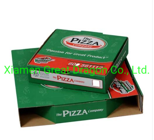 Lock-Corner Pizza Boxes for Stability and Durability (PZ040)