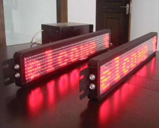 P12mm Bus LED Destination Display 7*80DOT