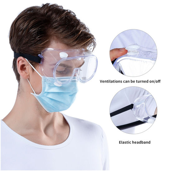 ANSI Standard PPE Registered Eye Protection Clear Safety Glasses Wholesale
