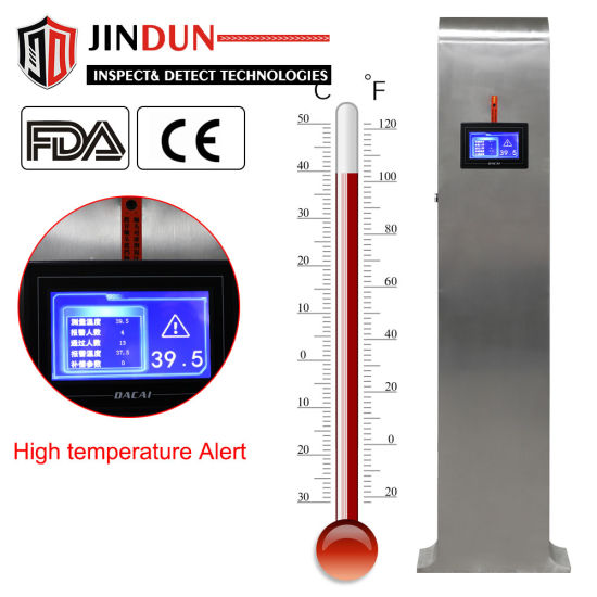 Probe Stand-up Non Conatct Digital Infrared Thermometer with Temperature Sensor