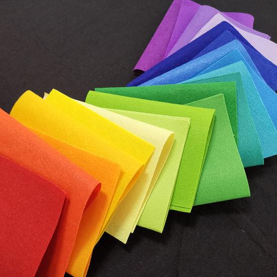 Non-Woven Felt Non-Woven Made Printed Craft Felt Sheet Felt Fabric Rolls