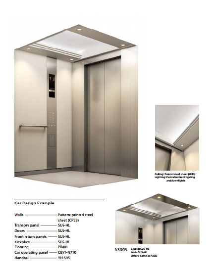 Passenger Elevator with Machine Room pictures & photos
