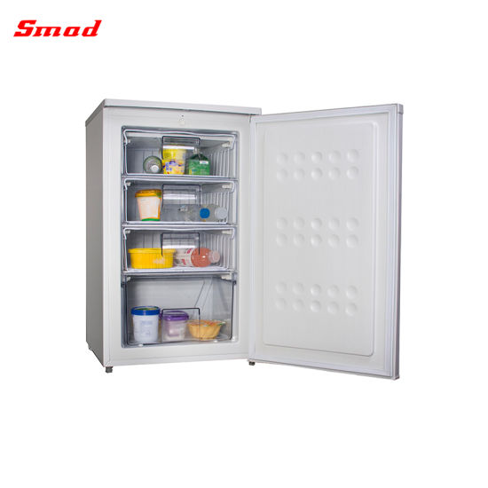 40-110L Tabletop Mini Deep Glass Door Freezer Used for Ice Cream