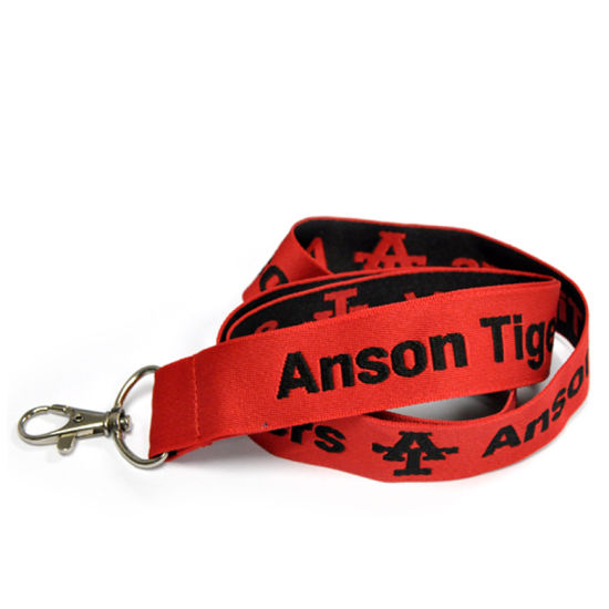 Custom Polyester Woven Lanyard for Promotion pictures & photos