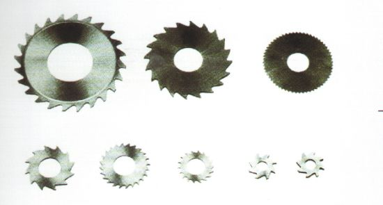 HSS Slot-Making Saws Circle Blades for Household Paper