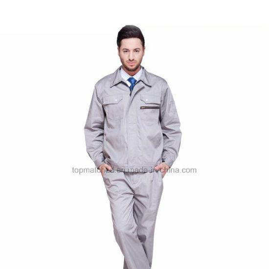 Bleach Resistant Anti-Static Flame-Retardant Factory Welder Work Uniforms