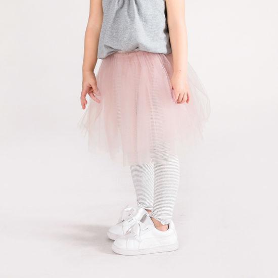 Single Color Tulle Baby Girls Skirt Lined Comfortable Cotton Girls Ankle-Length Leggings Children Pants