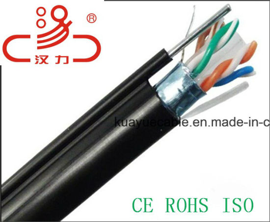 Outdoor Ftpcat6 4X2X23AWG 250MHz/Cable Network/ Communication Cable/ UTP Cable/ Computer Cable pictures & photos