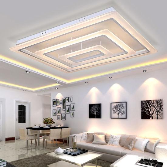 China Rectangular Led Ceiling Light For