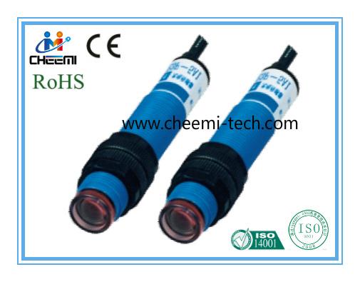 M12 Metal/Plastic Cylinder Photoelectric Switch Thru-Beam Sensor NPN No/Nc
