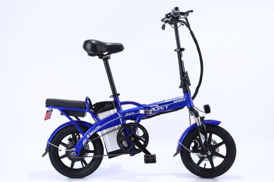 Electric Bike with Lithium Battery 12/16/18/20 Inch Folding Electric Bicycle / Fit Ebike Colors pictures & photos