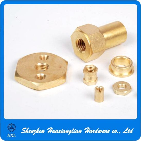 OEM Precision CNC Machine Turning Lathe Brass Parts pictures & photos