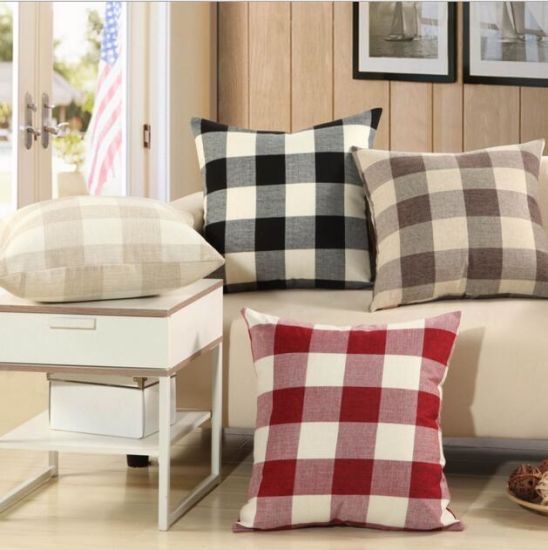Decorative Square Pillow Case Cushion Covers for Home (DPF10312)