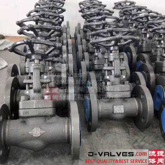 Forged Steel A105 F304 F316 Globe Valves for Industrial