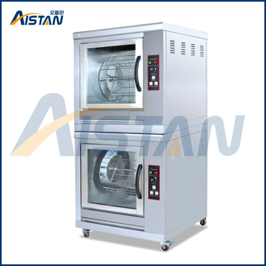 Eb206 Electric Commercial Stainless Steel Commercial Rotisserie/Rotary Chicken Oven/Chicken Roasting Machine pictures & photos