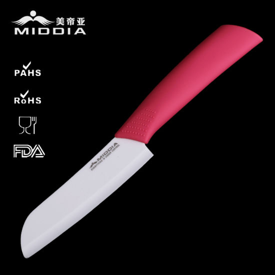 "5"" Ceramic Santoku Knife Tool Cutter Sushi Knives pictures & photos"