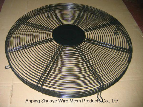 China Powder Coating Welded Wire Mesh Exhaust Fan Cover
