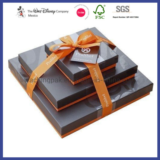 Competitive Lid and Base Cosmetic Packaging Box Paper Box Gift Boxes pictures & photos