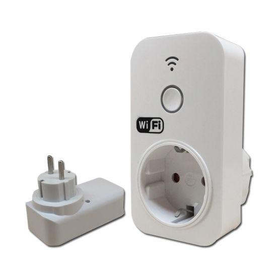 Smart WiFi European Standard Electrical Timer Socket