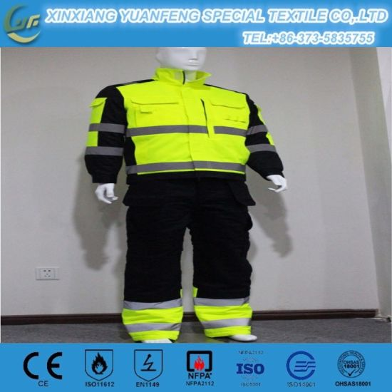 2ca404fcbdad China En 11612 Flame Retardant 4.5oz Aramid Iiia Outdoor Clothing ...