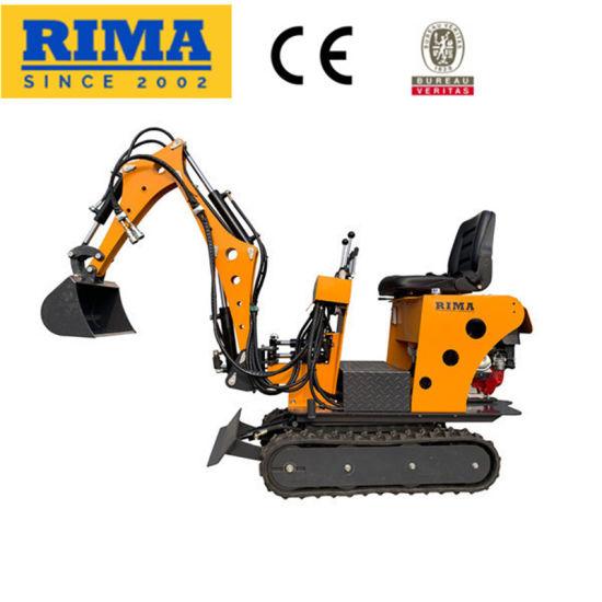 0.7/0.8ton Small/Mini/Micro Garden Hydraulic Crawler Wheel Used Digger Excavator