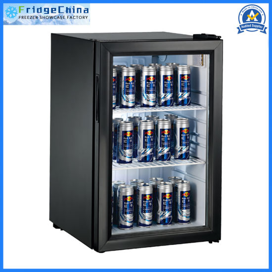 Counter-Top Cooler Glass Door Mini Beer Bar Fridge