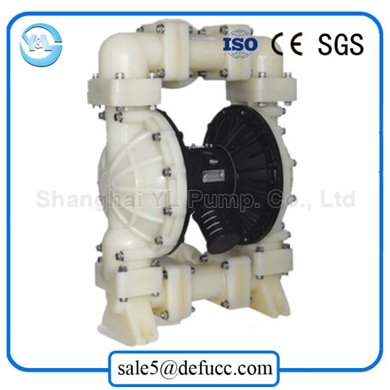 Food Grade Air Operated Transfer Sugar Membrane Pump pictures & photos