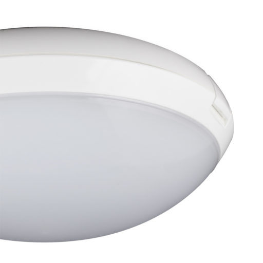 High Lumen Round Plastic Ceiling Light