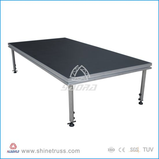 Aluminum Stage with 18mm Plywood Platform pictures & photos