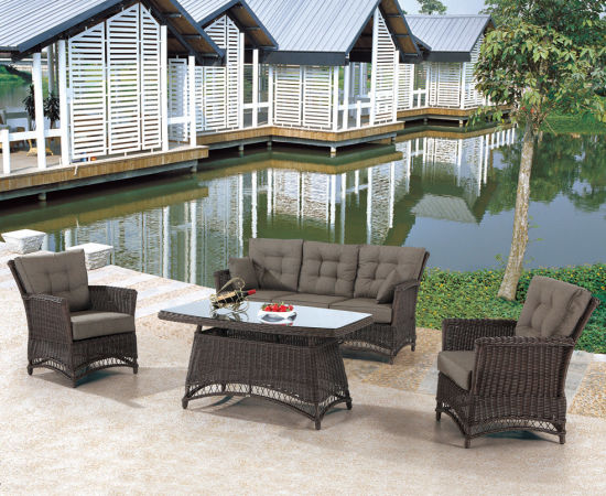 Garden Patio Wicker / Rattan Sofa Set - Outdoor Furniture (LN-2135) pictures & photos